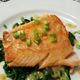 Salmon With Dijon Mustard Glaze
