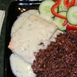 Salmon in Lemon-Dill Sauce