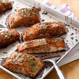 Salmon with Balsamic-Honey Glaze Recipe