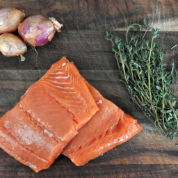 Salmon with Thyme Butter