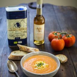 Salmorejo (Spanish Tomato, Olive Oil and Bread Soup)