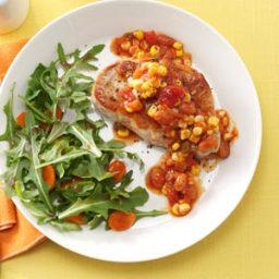 Salsa Skillet Pork Chops