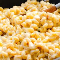 Salsa Verde Pepper Jack Macaroni and Cheese