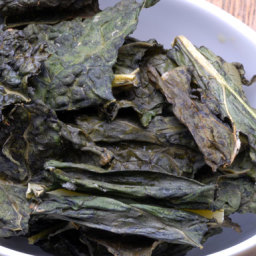 Salt and Vinegar Kale Chips