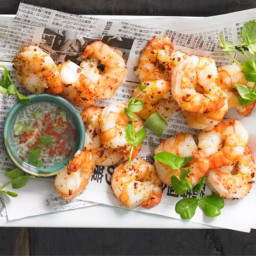 Salt  and  pepper prawns