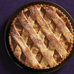 Salted Caramel Apple-Pear Tart