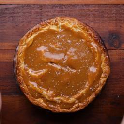 Salted Caramel Apple Pie Recipe by Tasty