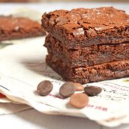 Salted Caramel Brownies (Low FODMAP and gluten-free)