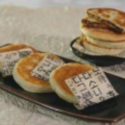 Salted Caramel Hotteok Pancakes