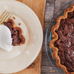 Salted Chocolate Pecan Pie Is Proof Sweet + Salty Is The Perfect Combo