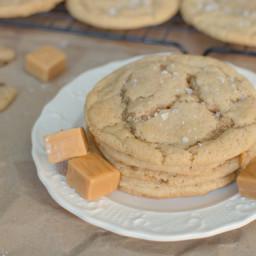 Salted Caramel Brown Butter Sugar Cookies