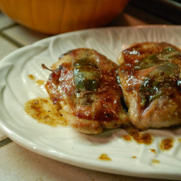 Saltinbocca - Chicken and Prosciutto Rolls