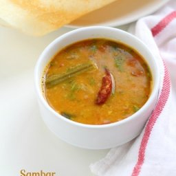 Sambar Recipe for Dosa and Idli