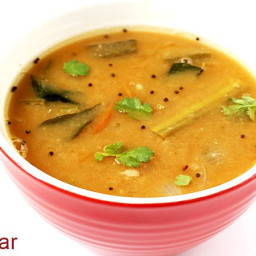 Sambar recipe | South indian sambar recipe | How to make sambar recipe