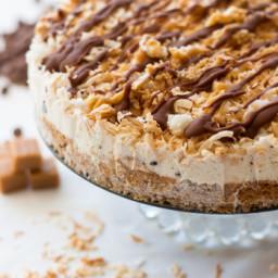Samoa Ice Cream Cake