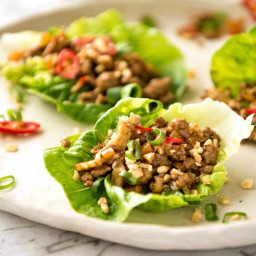 San Choy Bow (Chinese Lettuce Wraps)