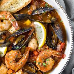 San Francisco Seafood Cioppino