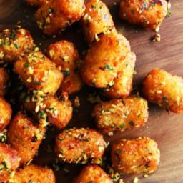 San Francisco Style Garlic Tater Tots