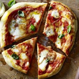 San Marzano tomato pizza