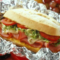 Sandwich - Hot Ham Hoagies