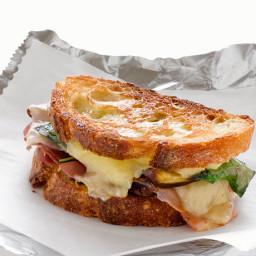 Sandwich - Prosciutto and Fontina En Carozzo with Truffle Oil