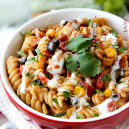 Santa Fe BBQ Ranch Chicken Pasta