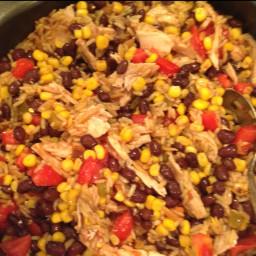 Santa Fe Chicken Pilaf