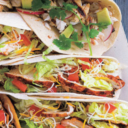 Santa Fe Grilled Chicken Soft Tacos