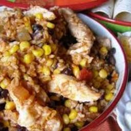 Crock Pot Sante Fe Chicken