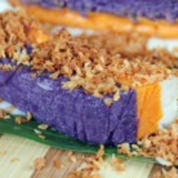 Sapin-Sapin (Multi-colored Sweet Rice Cake)