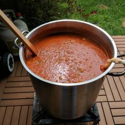 Sauce spaghetti d'automne