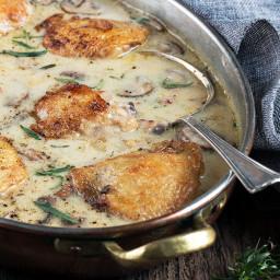 Saucy French Chicken