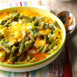 Saucy Green Bean Bake Recipe