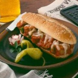 Saucy Italian Turkey Sausage Sub