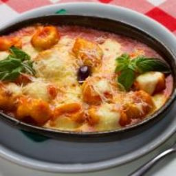 Saucy Potato Gnocchi Bake