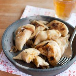Sauerkraut, Potato and Cheese Pierogi