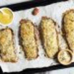 Saumon dijon cuit au four