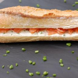 Saumon Fume (Baguette)