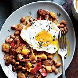 Sausage and Black-Eyed Pea Hash