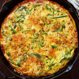Sausage and Broccoli Rabe Frittata