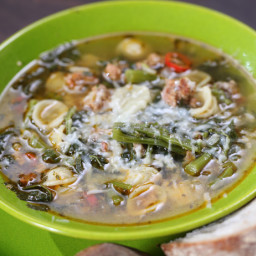Sausage and Broccoli Rabe Soup