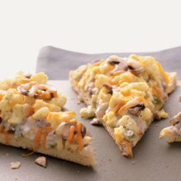 Sausage and Egg Breakfast Pizza Recipe