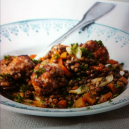 Sausage and fennel meatballs