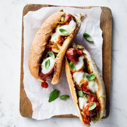 Sausage-and-Fennel Parm Heroes