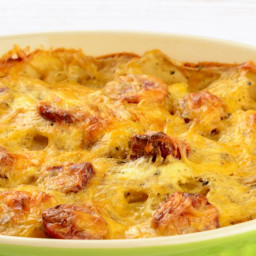 Sausage and Potato Breakfast Casserole