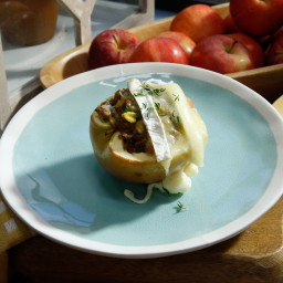 Sausage and Sage Apple-Stuffed Apples