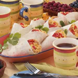Sausage Breakfast Wraps Recipe