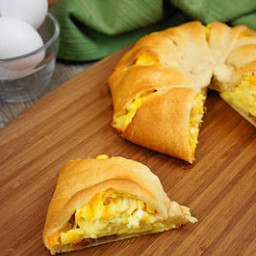 Sausage Egg and Cheese Ring