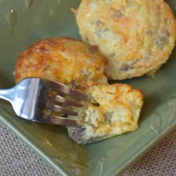 Sausage Egg Muffins - Easy Make-Ahead Breakfast Idea