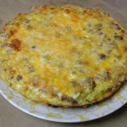 Sausage Frittata (spanish Tortilla Style)